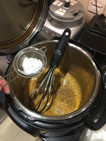 Adding tapioca startch